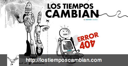lostiemposcambian error 404