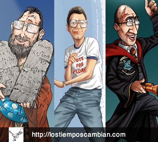 caricaturas empleados nitsnets studios