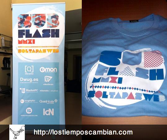 subflash 2011 camisetas roller