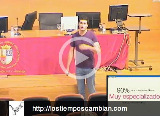 Elad Rodriguez - Jornadas de emprendedores Universidad de Alicante