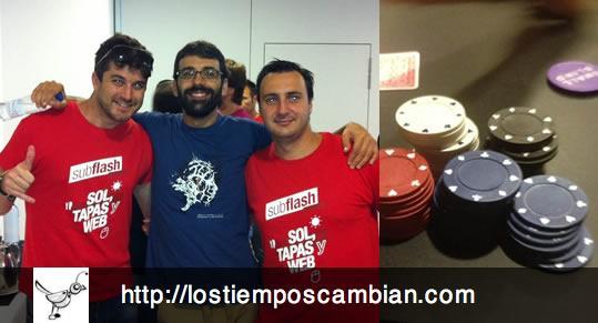 subflash 2012 subflashstars poker tour marc palau jorge canteli elad rodriguez