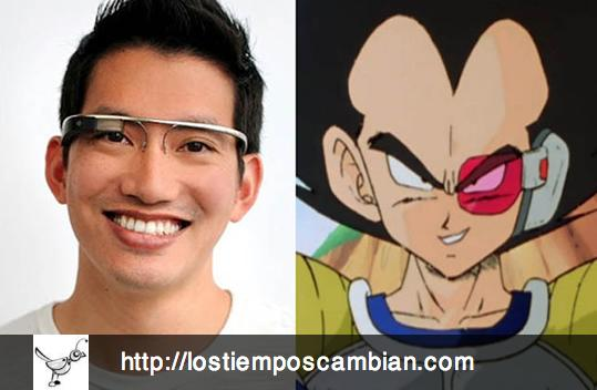 Google Glass Dragon Ball Z
