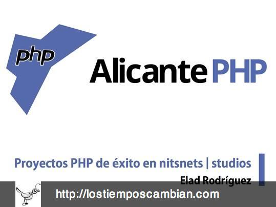 Conferencia sobre Proyectos de éxito de PHP en nitsnets | studios