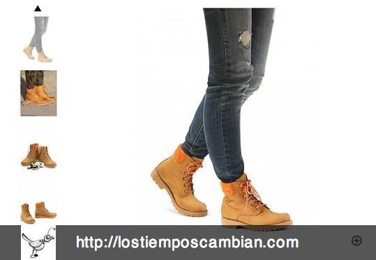 Carrusel ficha de producto Panama Jack ecommerce 2013
