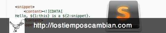 Snippets en Sublime Text