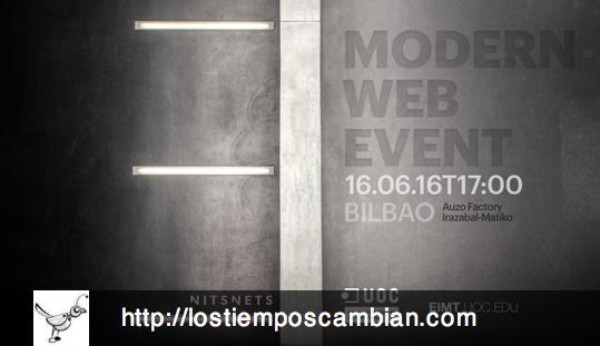 Modern Web Event de la UOC. Bilbao 2016. NITSNETS
