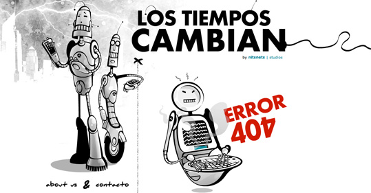 lostiemposcambian error 404