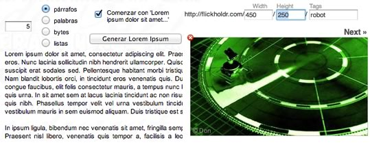 lorem ipsum placeholder maqueta web